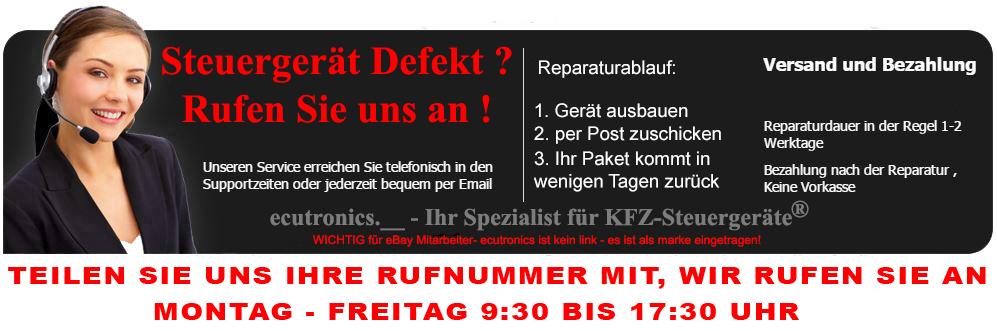 Reparatur Motorsteuergerät Opel Astra G 1,6L 12211330 12249831 HSFI-2.4